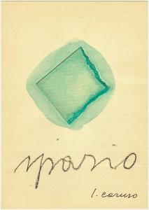 Luciano Caruso poesia visiva
